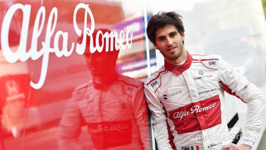Giovinazzi to partner Raikkonen at Sauber in 2019