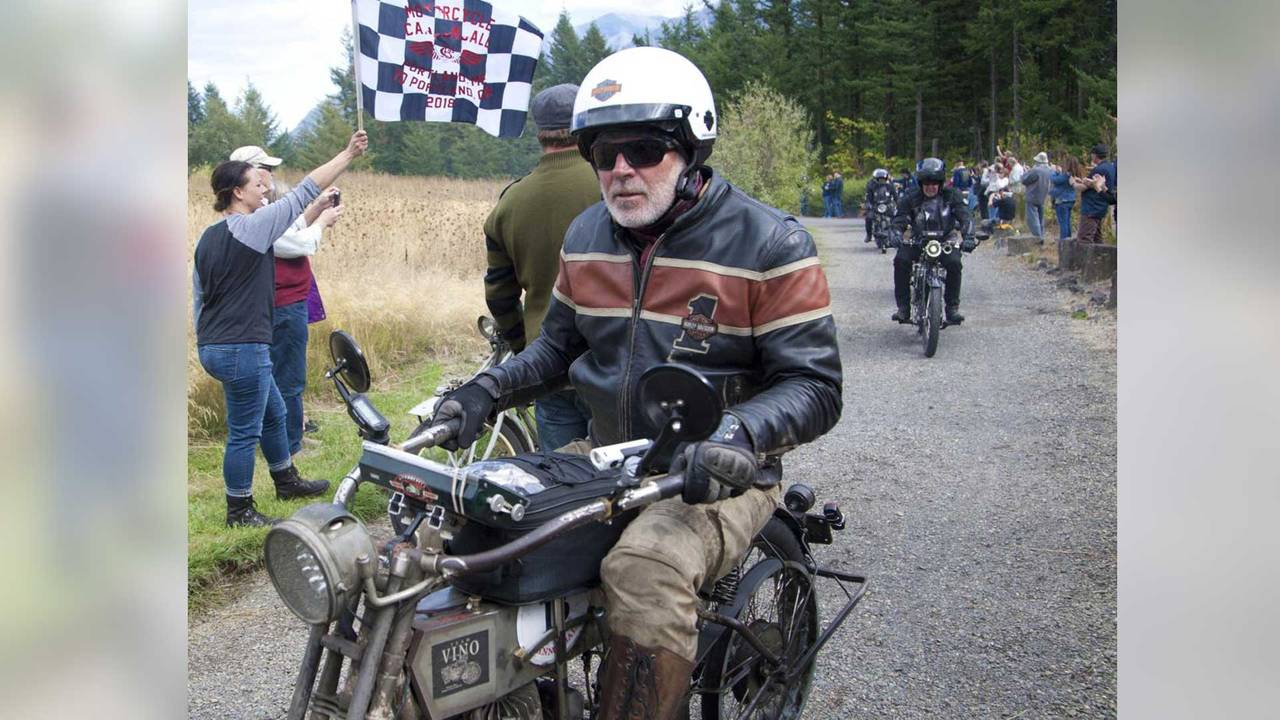Motorcycle Cannonball Winner