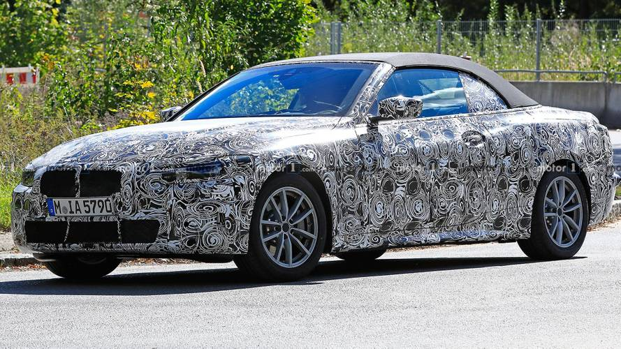 BMW 4 Series Convertible Spied Looking Svelte In New Photos