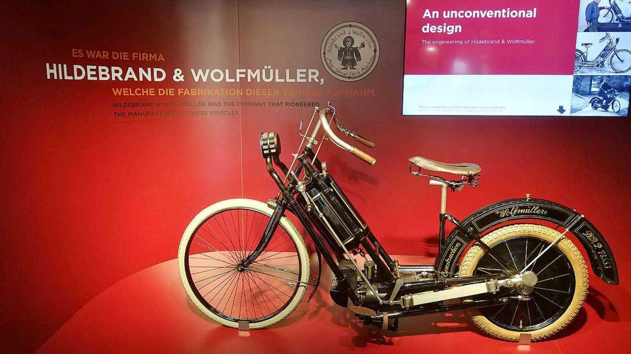 Hildebrand & Wolfmüller motorcycle