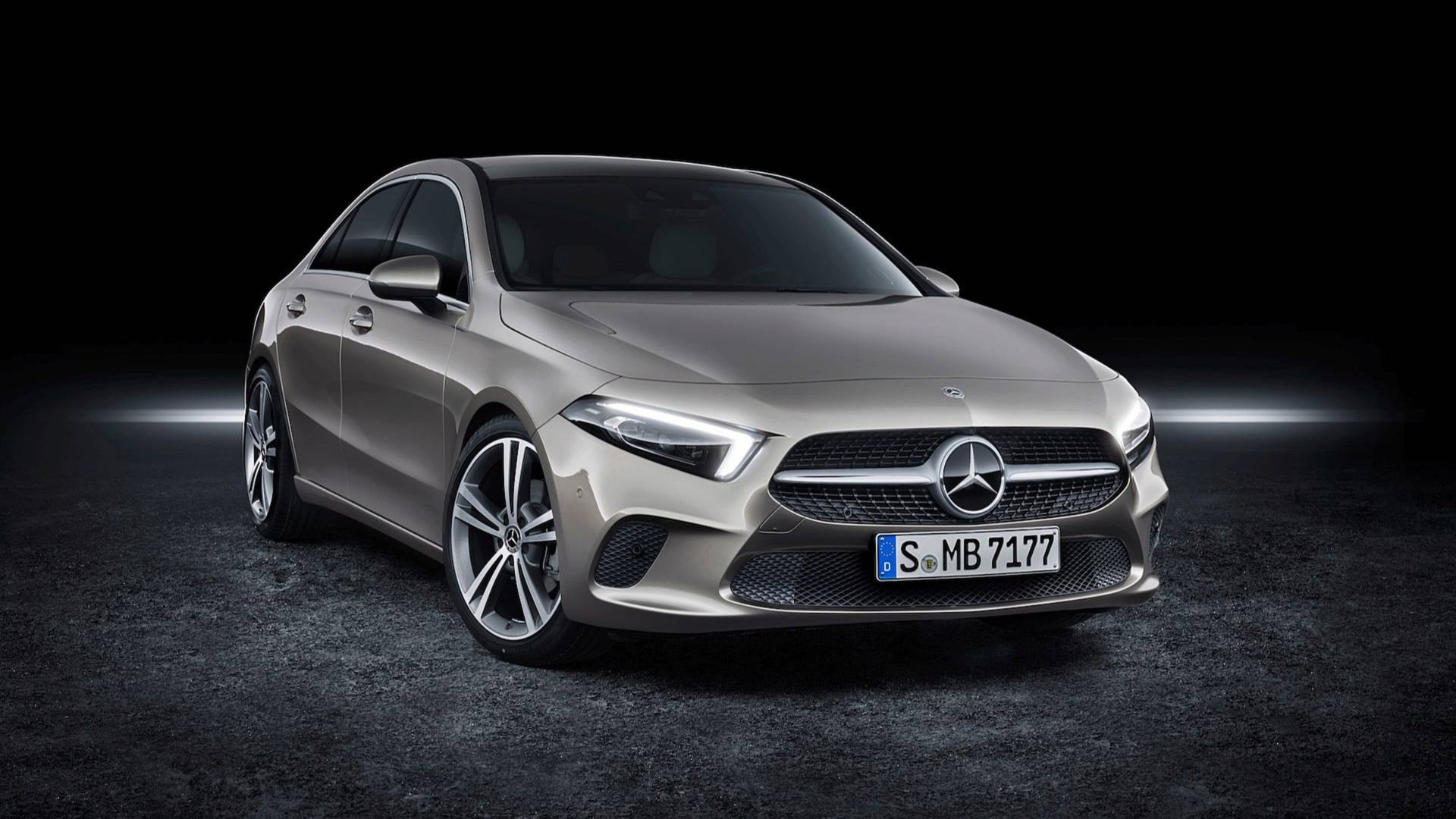 Mercedes A Class Sedan Goes On Sale In Europe Pricing Announced