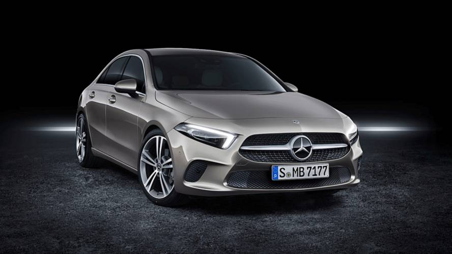 mercedes a-class sedan goes on sale in europe; pricing announced