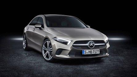 2018 model Mercedes-Benz A Serisi Sedan ortaya çıktı