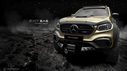 Mercedes-Benz Clase X 6x6 by Carlex Design: un 4x4 duro e indestructible