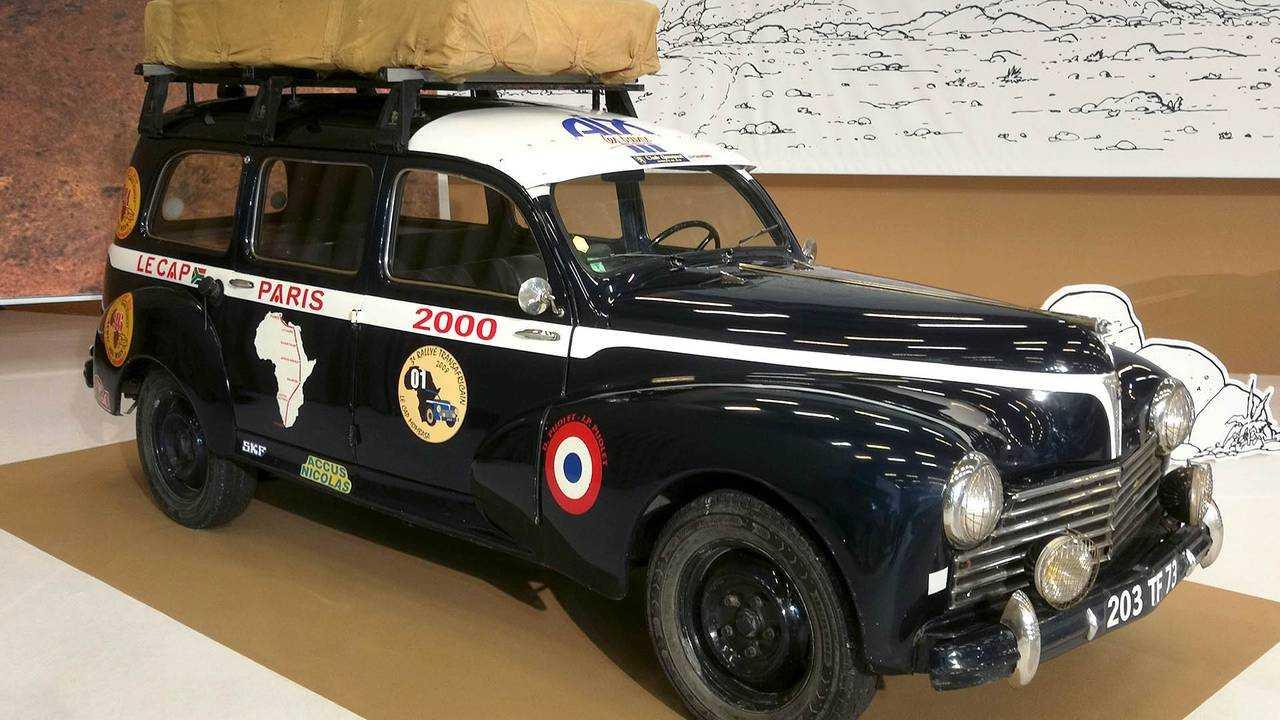 Peugeot 203 Commerciale Raid Le Cap Alger-Paris (1950/51)