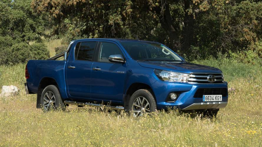 Prueba Toyota Hilux 150D VXL 2018