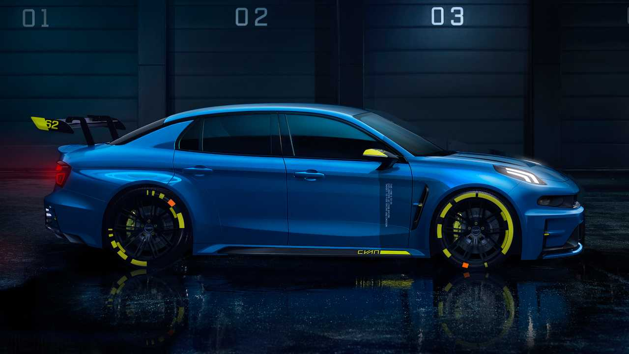 Lynk & Co 03 TCR by Cyan Racing