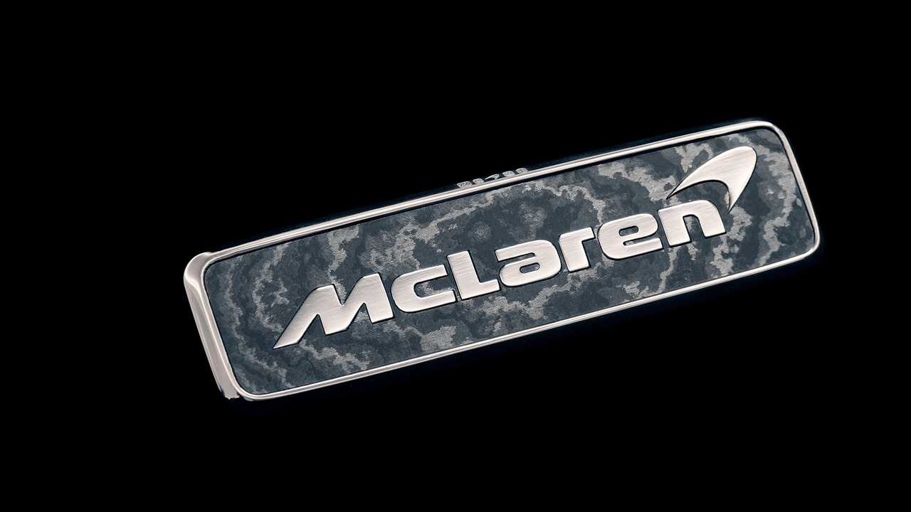 McLaren Speedtail Gold Badge