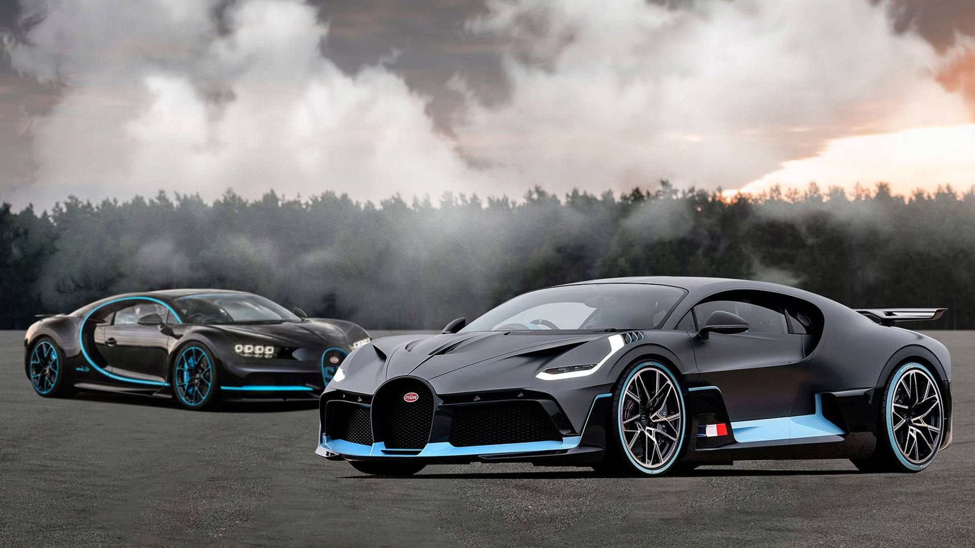 Bugatti Divo See The Changes Side By Side