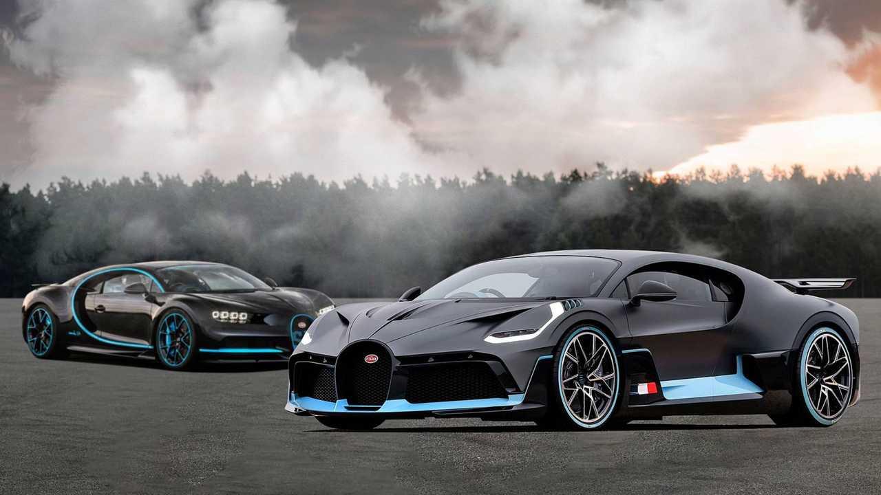 Bugatti Chiron + Divo