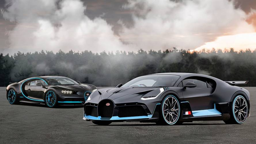 Bugatti Divo: See The Changes Side-By-Side