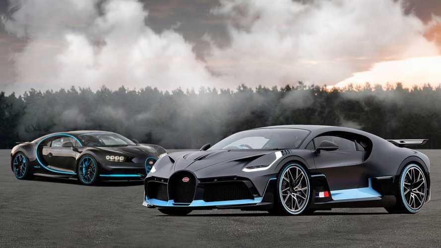 Comparamos los Bugatti Divo y Chiron. ¿Cuál sale ganando?