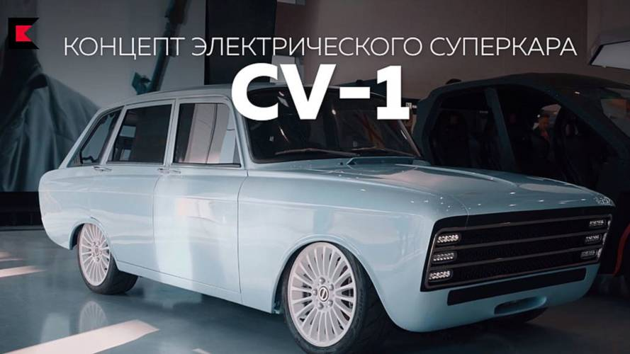 Gun Manufacturer Kalashnikov Takes Aim At Tesla With CV-1