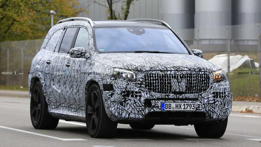 Erlkönig: Mercedes-Maybach GLS (2019)