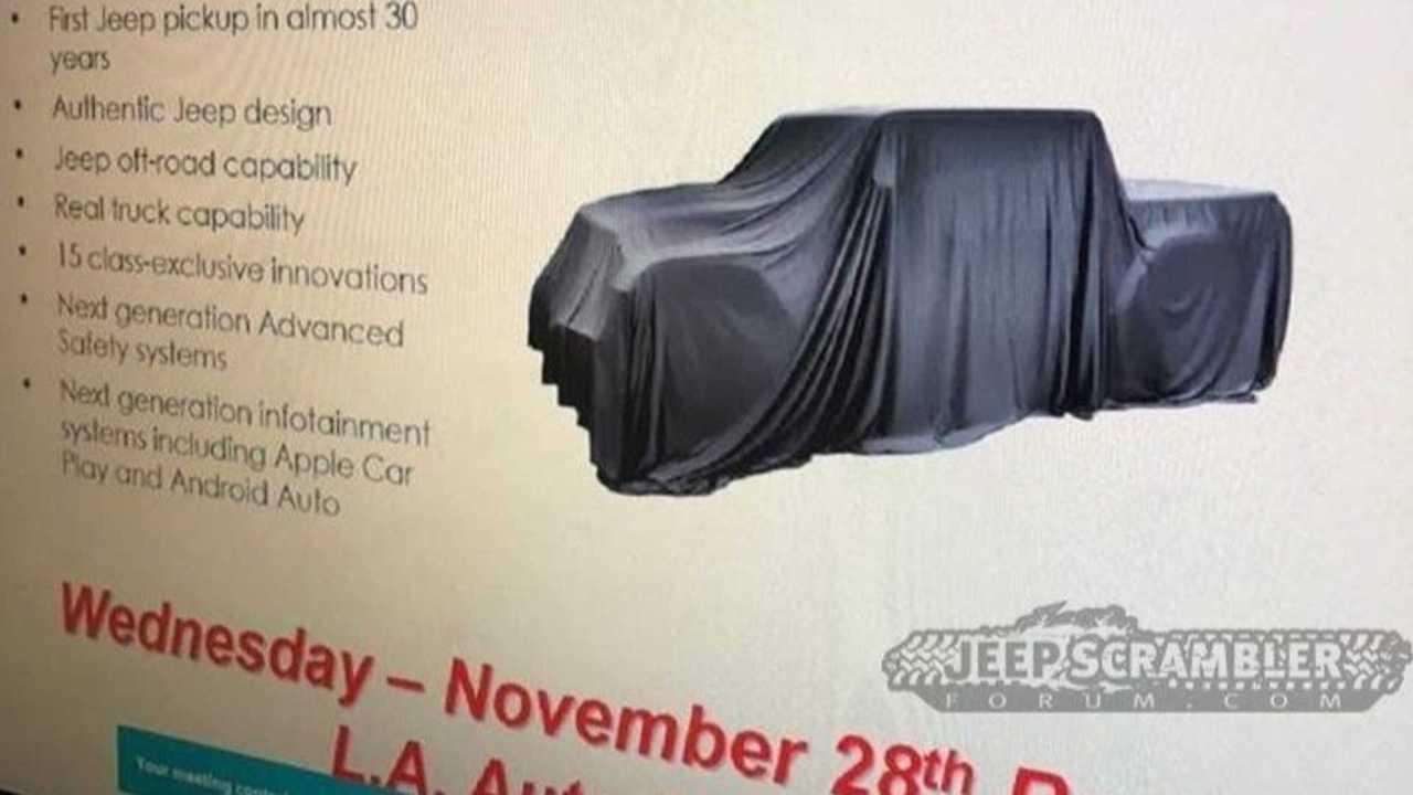 Jeep Scrambler Leaked Details