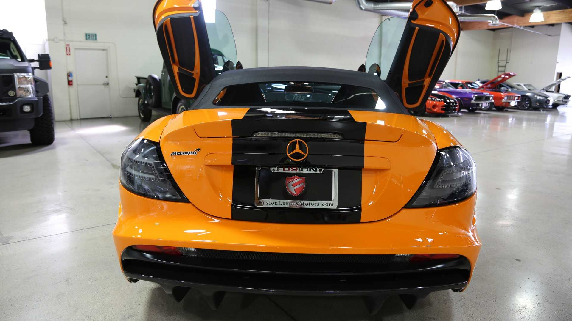 a9bfe7f23c249 One-Off Mercedes SLR McLaren 722S Can Be Yours For A Cool  1M
