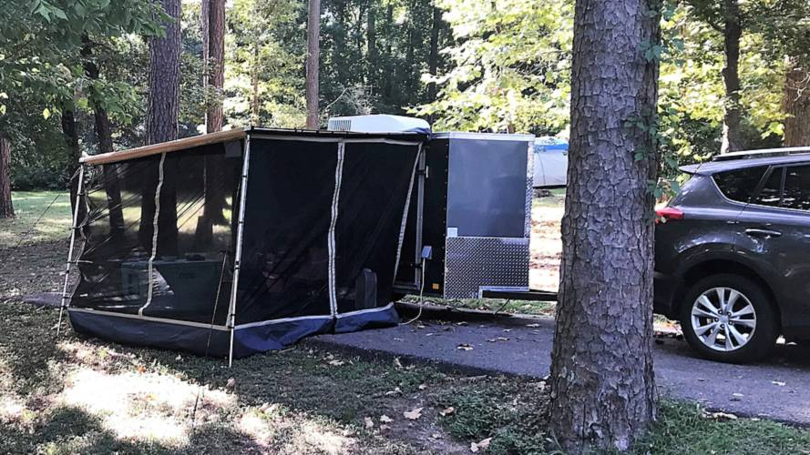 Cargo Camp Is A Cool Barebones Camper For Incognito Tourists