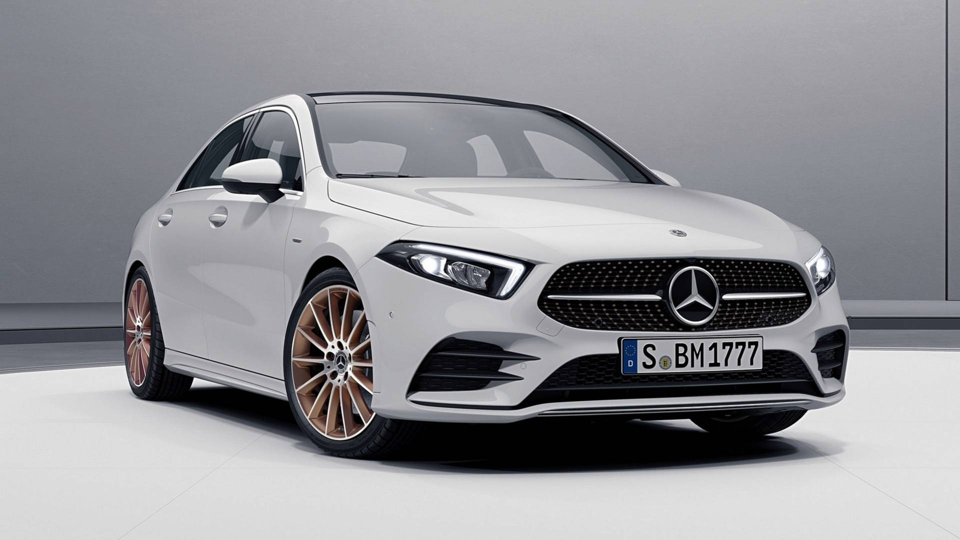 2019 Mercedes A Class Sedan Edition 1 Shows Off Copper Accents