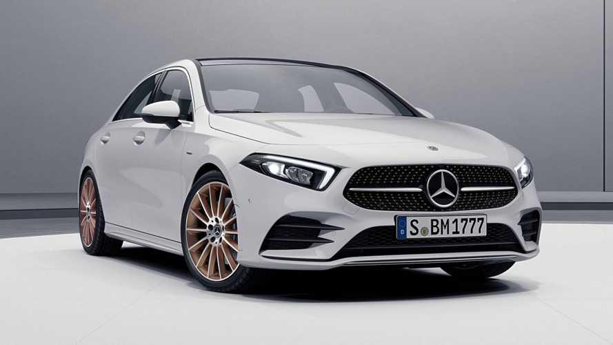 2019 Mercedes A-Serisi Sedan Edition 1'a bakır banyosu