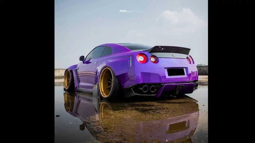 Aşırı Modifiyeli Bir Nissan GT-R