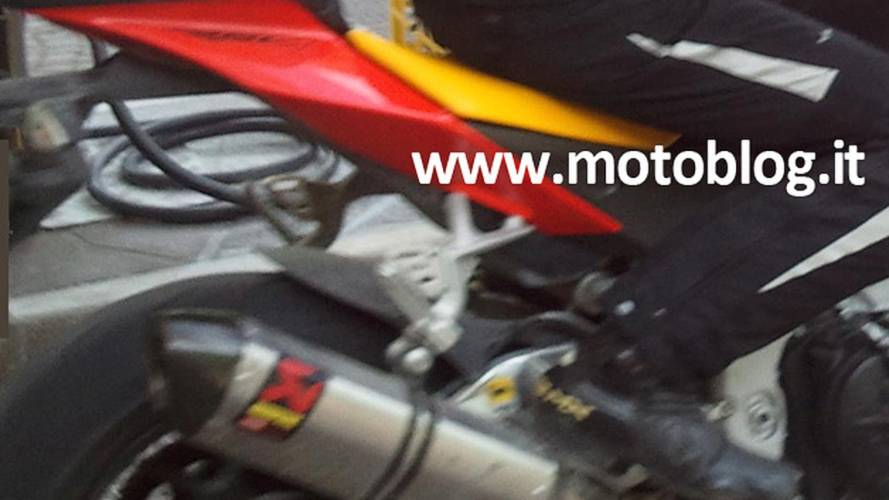 Spy Photo: Aprilia Tuono V4 Factory