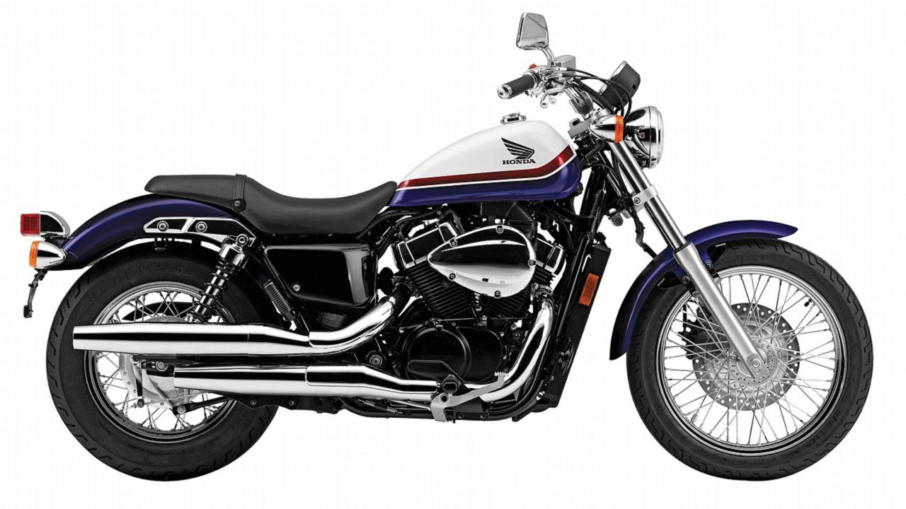 2011 Honda Shadow RS: proud to be a Japanese Bonneville rival