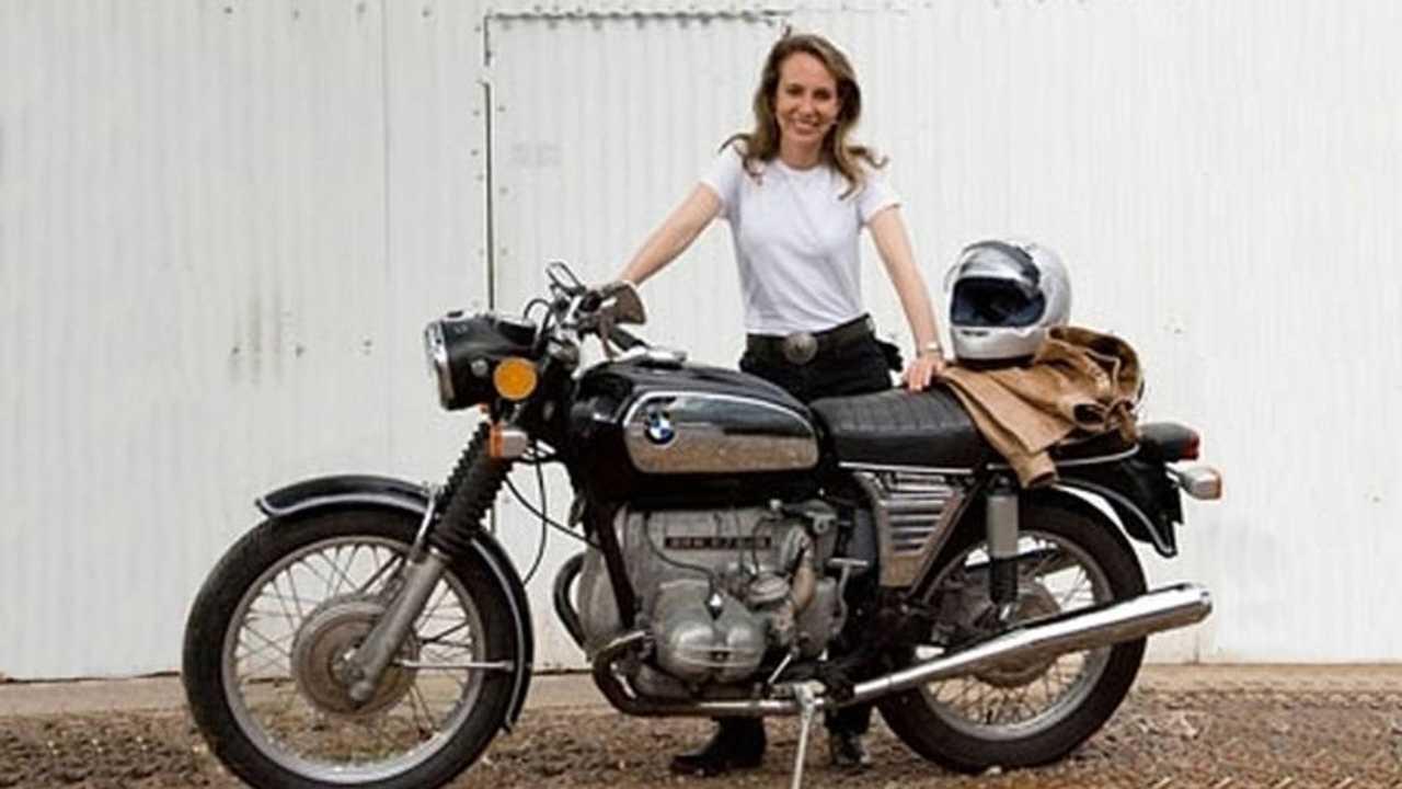 Gabrielle Giffords, motorcyclist