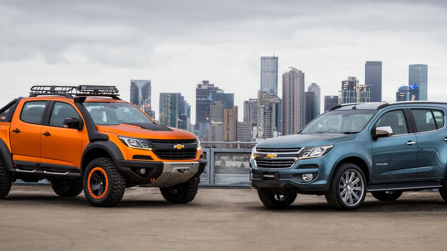 Chevy Colorado Xtreme, Trailblazer Premier concepts revealed [54 pics]
