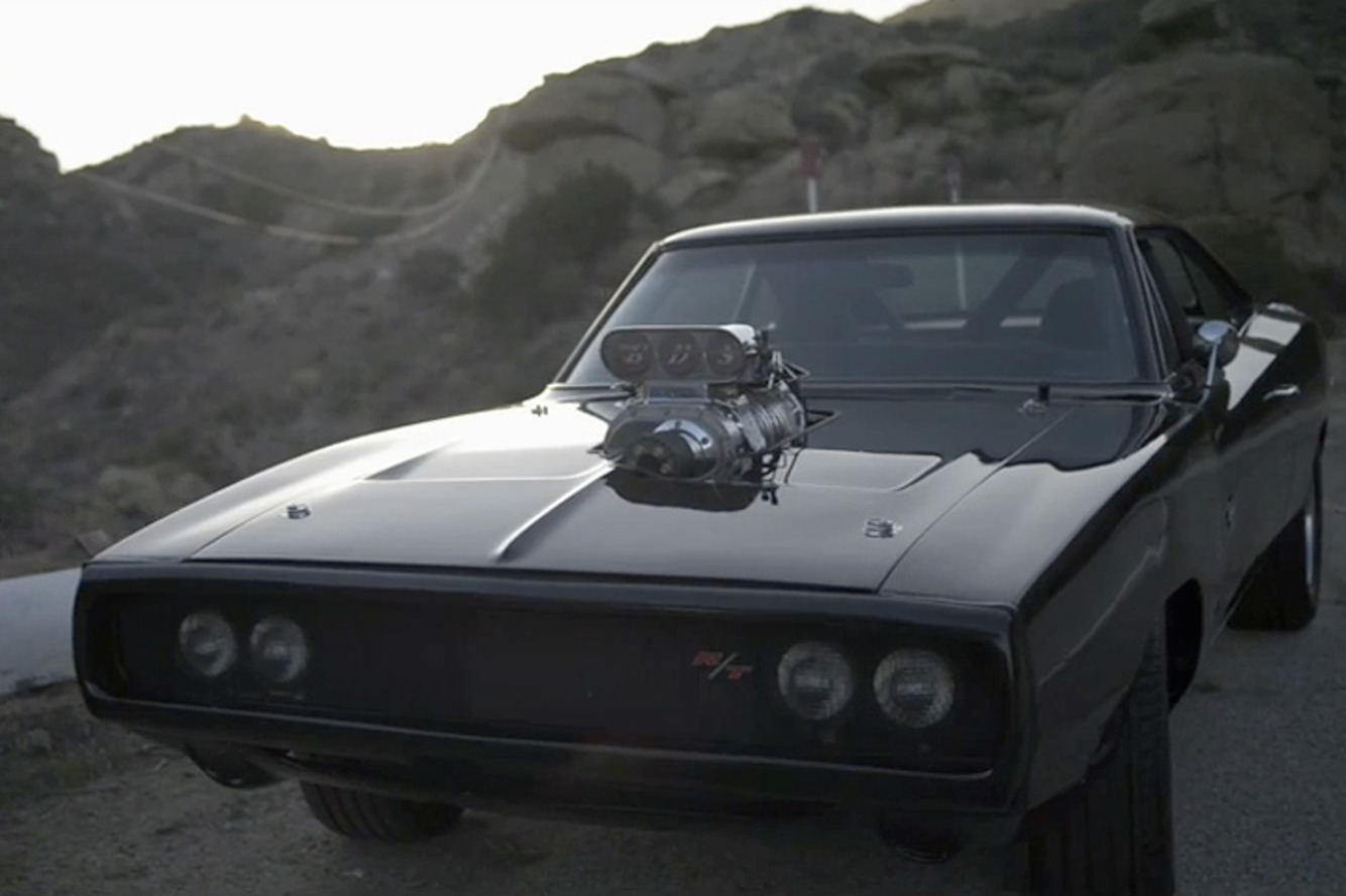 Behind The Wheel Of Vin Diesel S Fast And Furious Charger Video