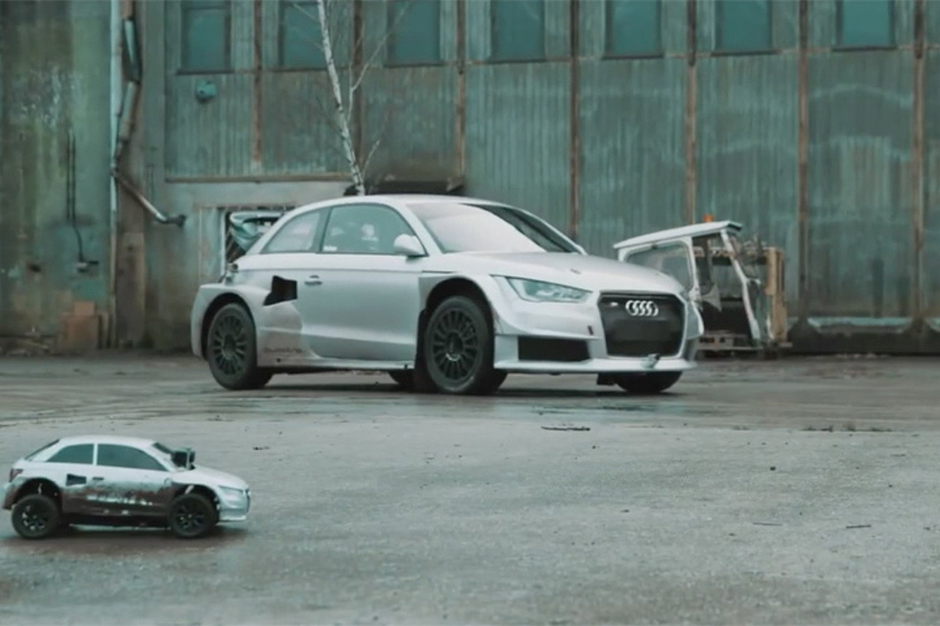 Which is Faster? 560HP Audi S1 or an RC Car?