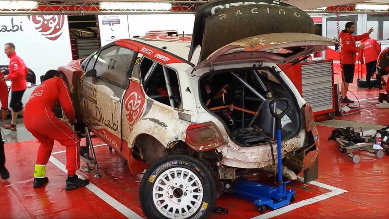 Citroen DS3 WRC rebuild