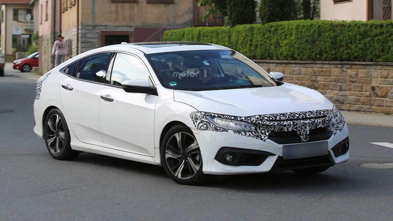 2017 Honda Civic Sedan Hatchback Getting Ready For Europe Renault Scenic Fuse Box Glove Euro Spec Spy Photo