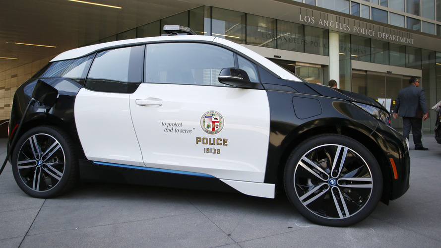Lapd Picks Bmw I3 For First Electric Vehicle Orders 100