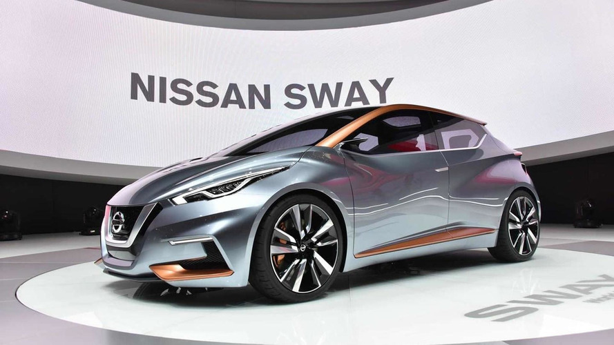 Nissan Sway concept previews Micra's bold styling in Geneva