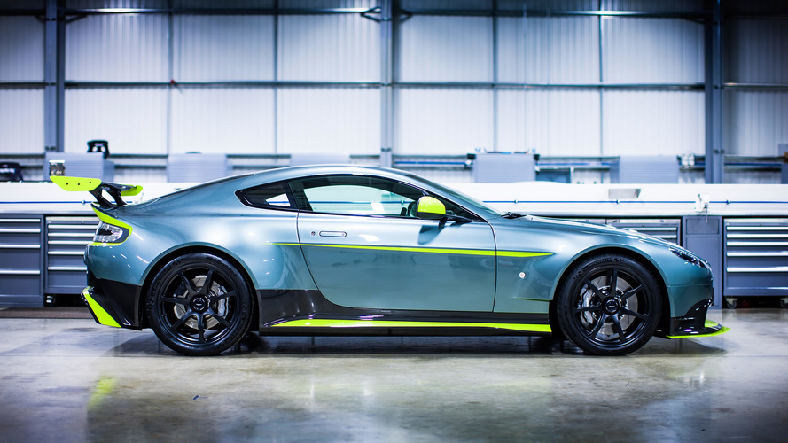 Aston Martin Vantage GT8 adds 10 hp, slashes 220 lbs
