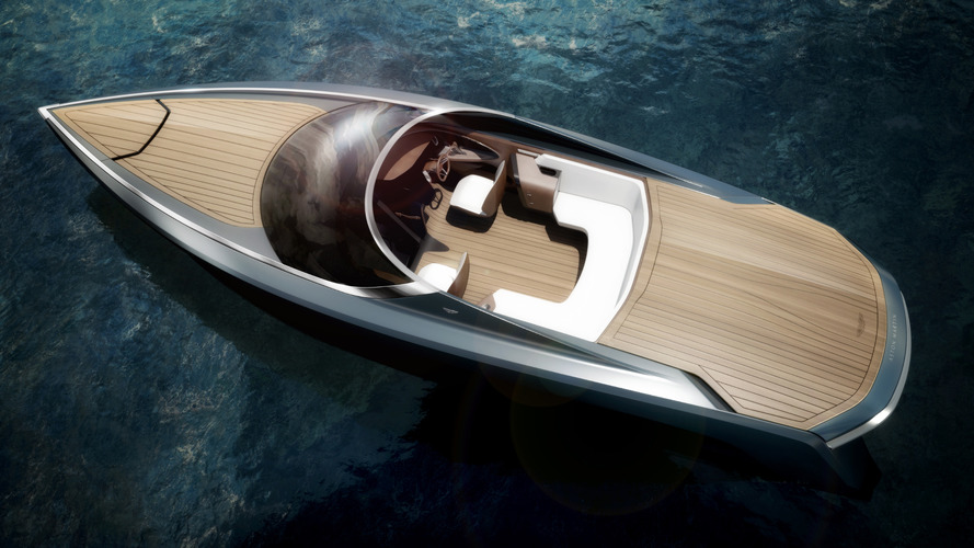 Aston Martin & Quintessence Yachts tease the AM37