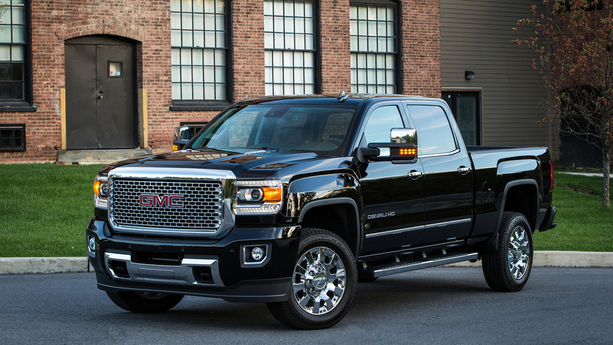 2020 GMC Sierra Denali 2500 HD Spied With Luxury-Level ...