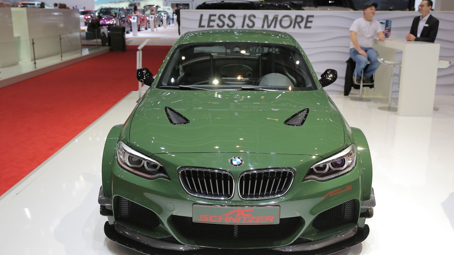 AC Schnitzer puts M4's engine in 570-hp BMW M235i for Geneva