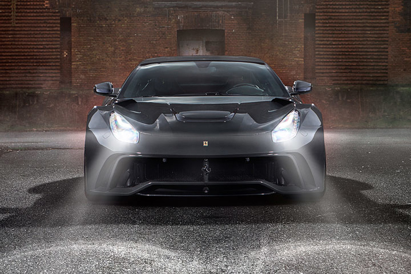 Novitec Ferrari F12berlinetta Gets Meaner Looks, More Power