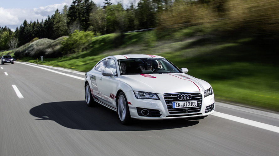 Audi A7 autonomous car can drive like humans
