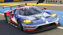 Ford GT Le Mans race car free download available in Forza 6
