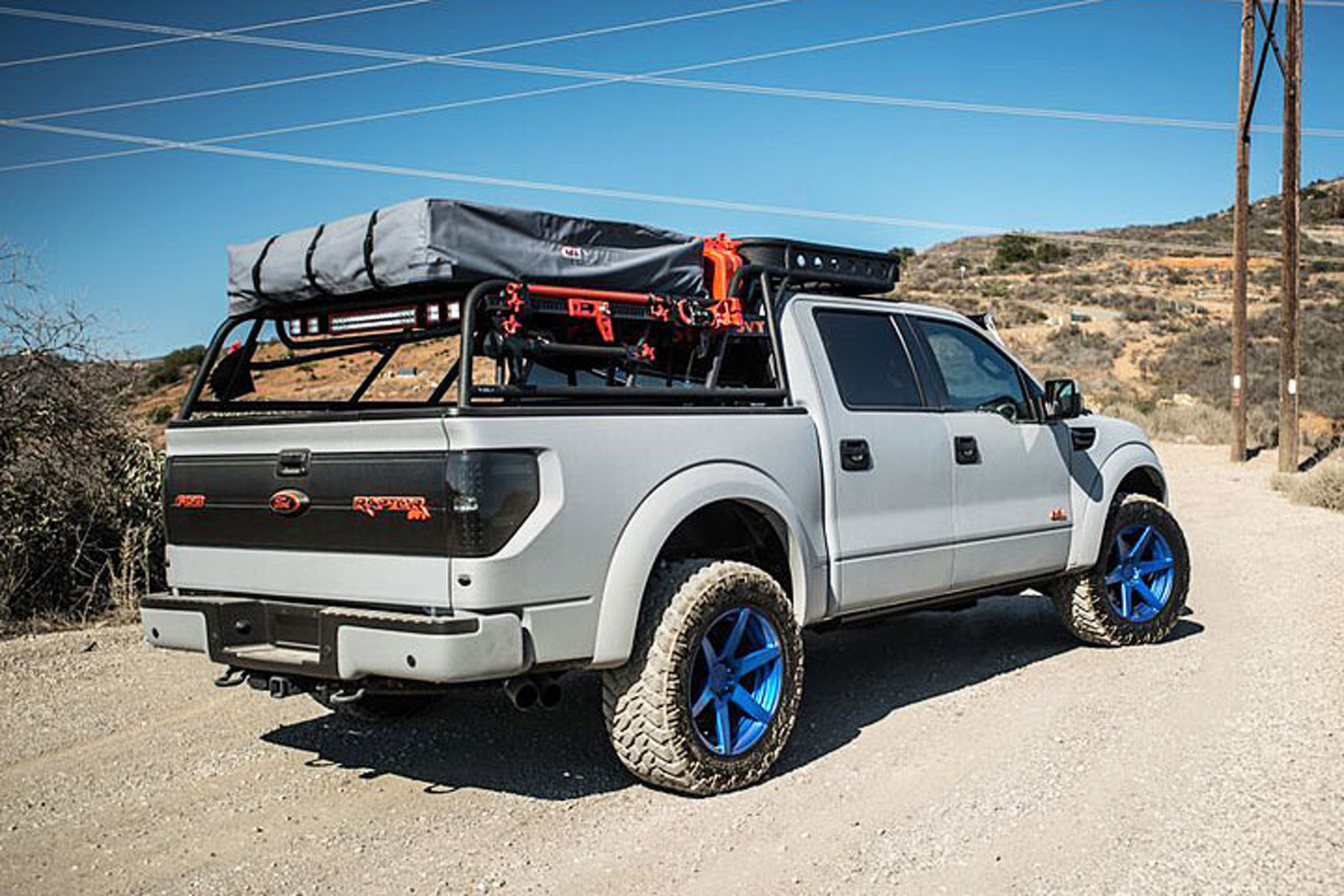 This Ford Raptor Is Now A 590 Hp Camping Vehicle
