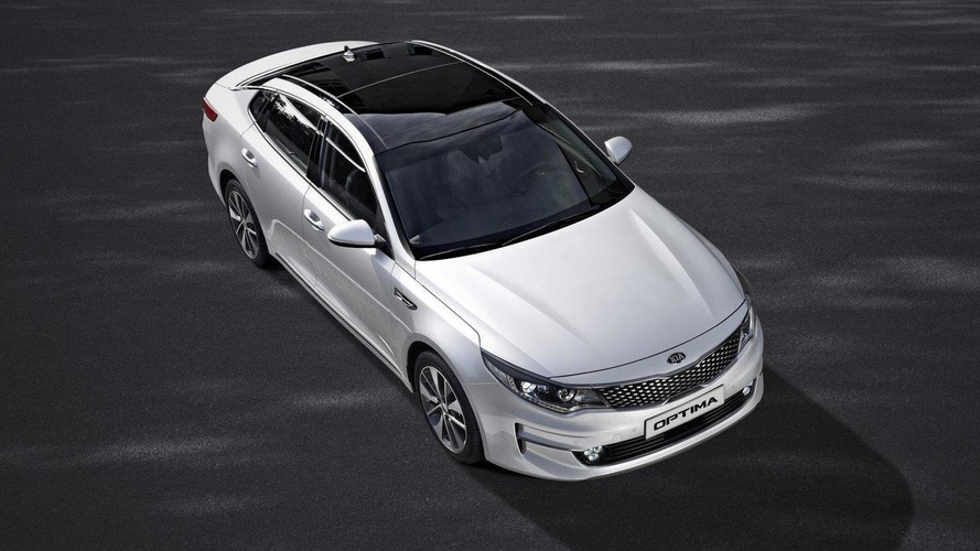 Euro-spec Kia Optima unveiled