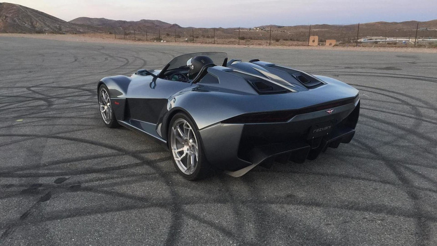 Ariel Atom-based Rezvani Beast plays on tarmac during official promo shoot [video]