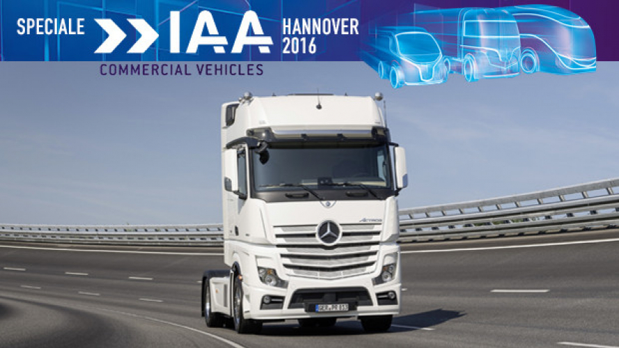 IAA Hannover 2016, Mercedes Actros Limited Edition