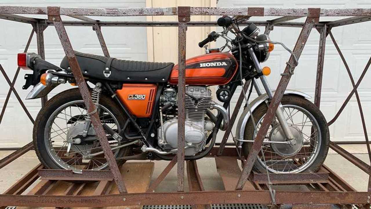 1975 Honda CL360 Crate Bike