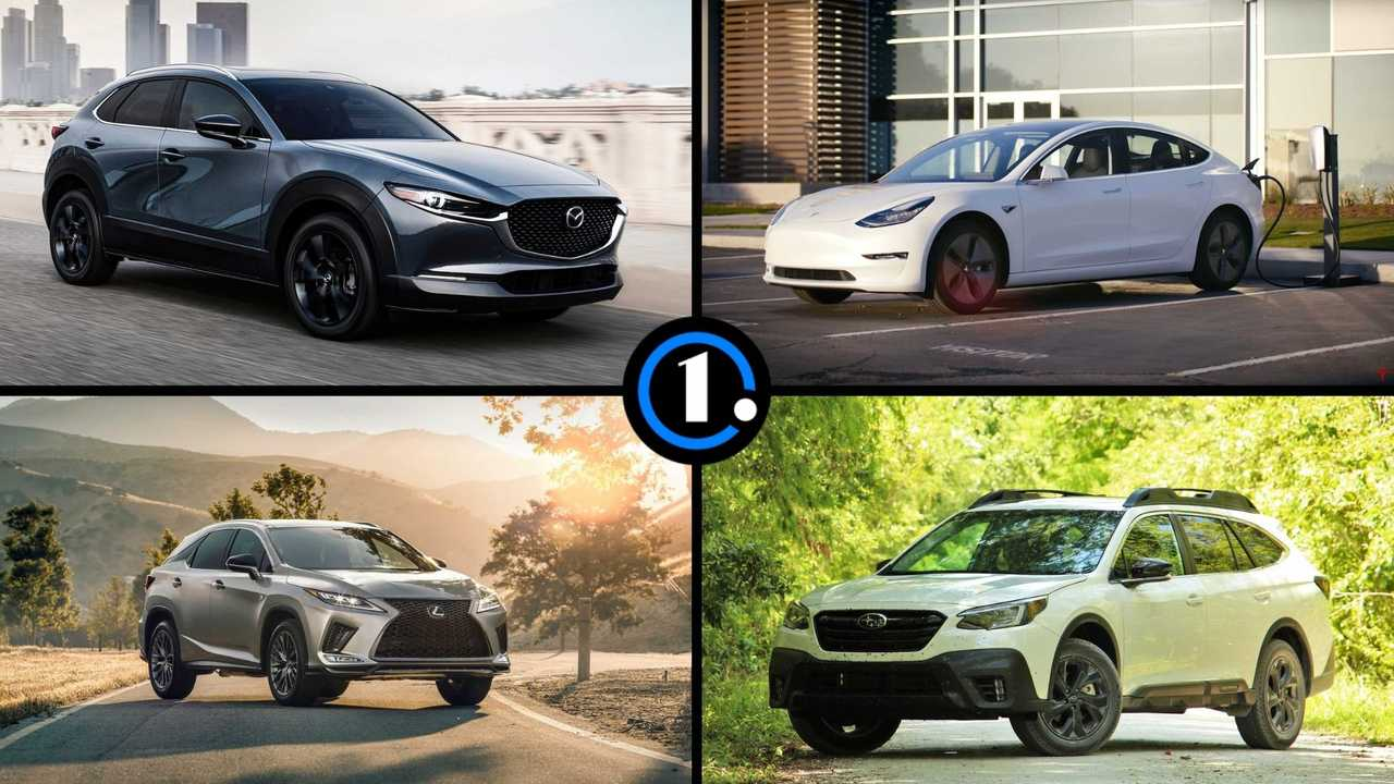 Consumer Reports Best Cars 2021 Lead