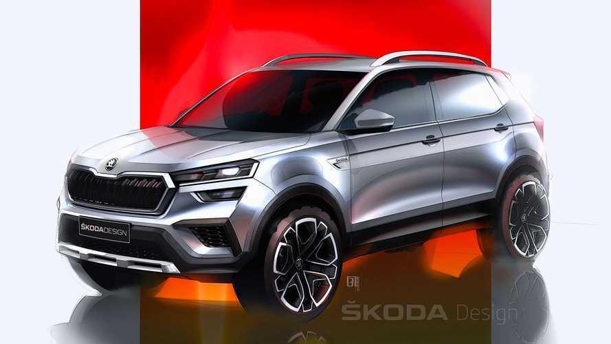 Skoda punta all'India con il SUV compatto Kushaq, eccolo nei teaser