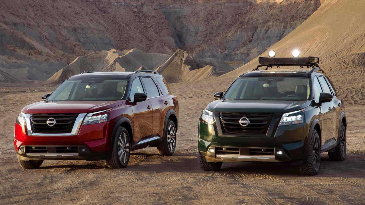 Новый Nissan Pathfinder, экстерьер