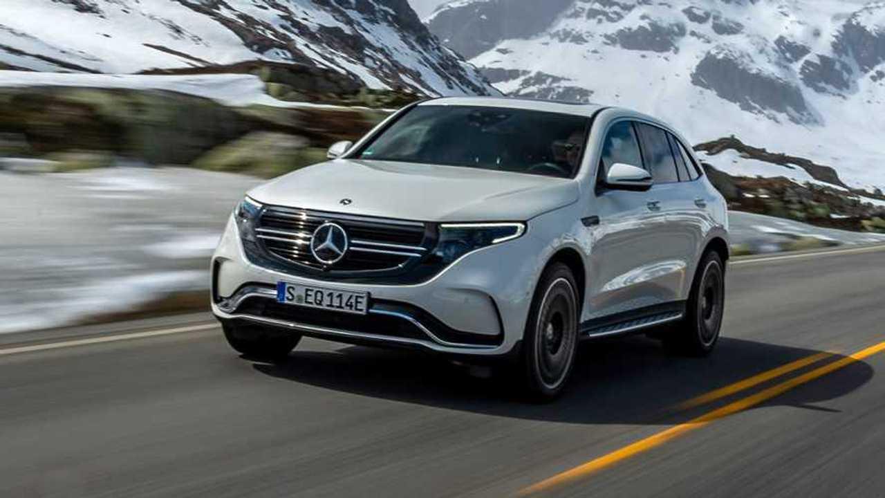 Mercedes EQC 400 4Matic AMG Line (2021)